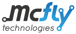 McFly Technologies logo - Prototypes, fast deliveries, reliability and flexibility